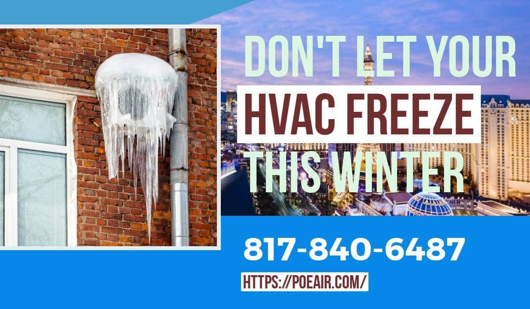 Tips to Stop Your AC Freezing Up This Winter!