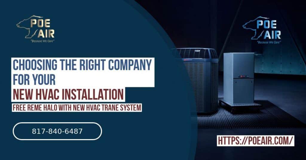 Choosing the Right AC Installation Company