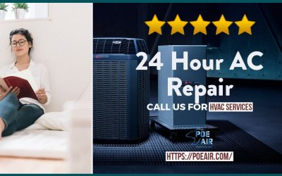 24 Hour AC Repair – 7 Reasons Why?