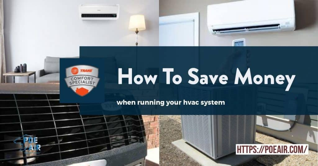 How To Save Money While Running An Air Conditioner